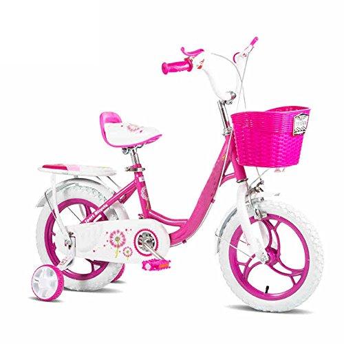 Bicicletas YANFEI Niños Rosa y Azul bebé de 2 a 6 Años bebé DE 12 Pulgadas Regalo para Niños (Color : Azul)