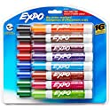 2-Pack 16 Count EXPO Low Odor Dry Erase Markers