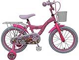 Bicicleta Niña Chica LOL Surprise16 Pulgadas Freno Delantero y Trasero al Manillar Cesta y Portabultos Rosa 85% Montado