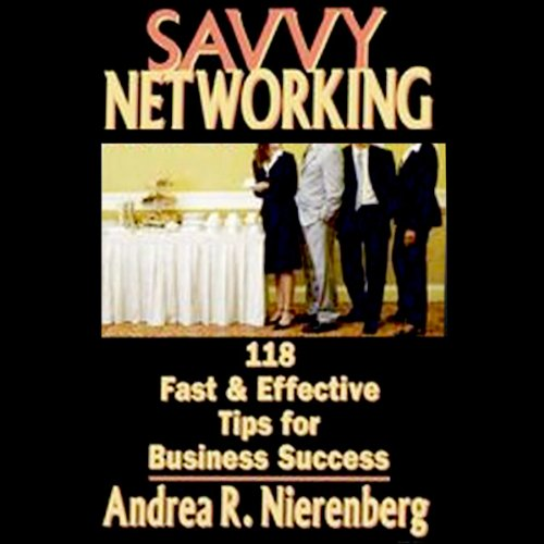 Savvy Networking cover art