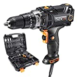 Best Corded Drills - Concrete Drill, TACKLIFE Hammer Drill with 620in-lb/70N.m Torque Review