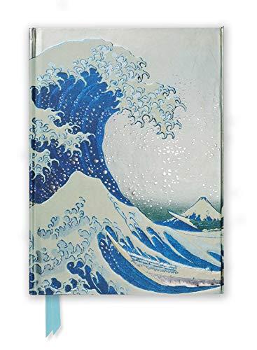 Premium Notizbuch DIN A5: Katsushika Hokusai, Die große Welle: Unser hochwertiges, liniertes Blankbook mit festem, künstlerisch geprägtem Einband und ... DIN A 5 mit Magnetverschluss, Band 9)