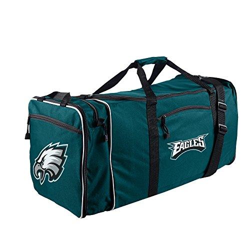 "Officially Licensed NFL Philadelphia Eagles ""Steal"" Duffel Bag, Green, 28"" x 11"" x 12"""
