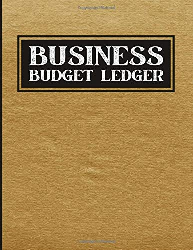 Business Budget Ledger: Finance Accounting For Business. Budget Management Notebook