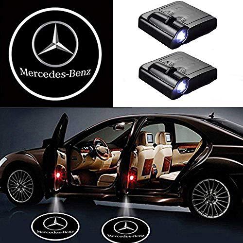 2 Stücke Drahtlose Autotür Led - Willkommen Laser Projektor Logo Licht Geist Schatten Licht Lampe Logos