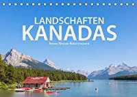 Landschaften Kanadas (Tischkalender 2022 DIN A5 quer): Hanna Wagner zeigt Impressionen aus den kanadischen Provinzen British Columbia, Alberta und Ontario. (Monatskalender, 14 Seiten )