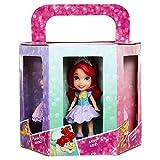 Disney Prinzessinnen Rapunzel, Belle, Ariel, Aschenputtel, Aurora und Merida 3 'Mini Puppe Set von 6.