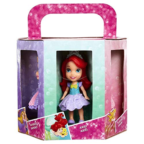 Disney princess 6 pack : Ariel, Aurora, Rapunzel, Merida, Cinderella and Belle.