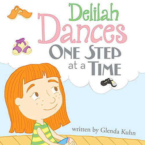 Delilah Dances One Step at a Time audiobook cover art