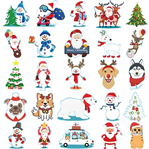 Ooopsiun Christmas Tattoos for kids - 80 Tattoos | Christmas Party Favors and Decorations for Children Kids, Santa Claus, Snowman, Reindeer