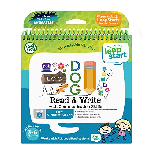 LeapFrog leapstart Vorschule Aktivität Buch: Lesen und Schreiben und kommunikative Fähigkeiten