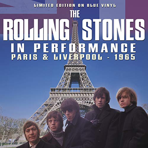 THE ROLLING STONES – IN PERFORMANCE LIVERPOOL & PARIS -1965