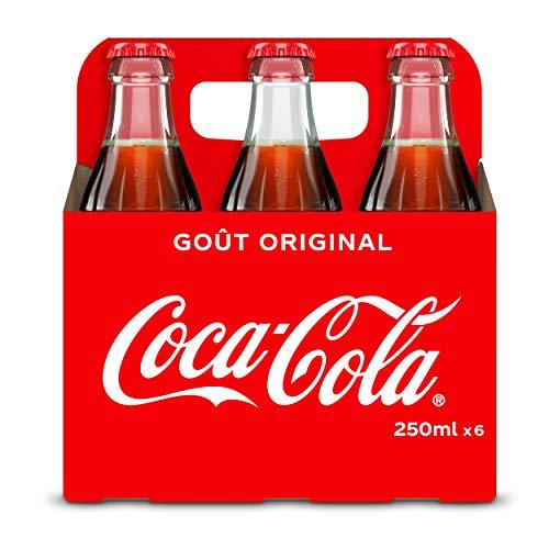 Coca-Cola Bouteille Verre 6x25cl
