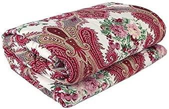 ROYAL RAJPUTANA Beautiful Floral Designs Reversible AC Blanket/Dohar for Home Single Bed