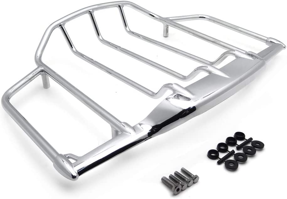 favorite HTTMT MT502-008-CD Chrome Luggage Rack with Trail Compatible ! Super beauty product restock quality top! Har