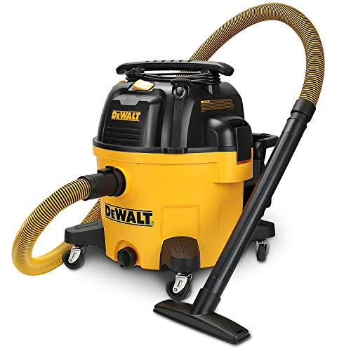 DEWALT 9 Gallon Wet/Dry VAC Heavy-Duty Shop Vacuum, Yellow
