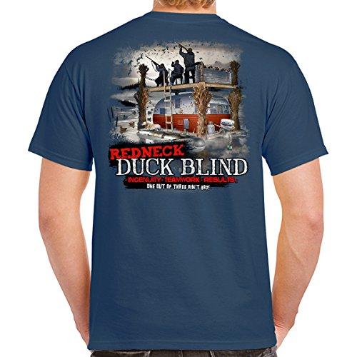Jeff Foxworthy Redneck Duck Blind T-Shirt Black