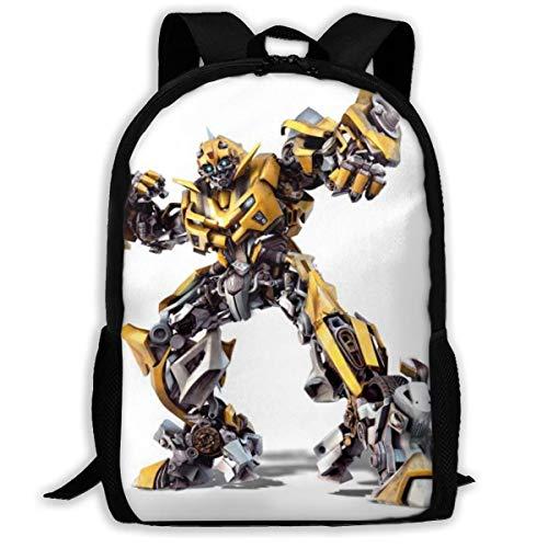 shenguang Transformers Bumblebee Adult Travel Backpack Fits 15.6 Inch Laptop Backpacks School College Bag Casual Rucksack for Men & Women