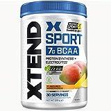 XTEND Sport Natural Zero | BCAA Mango in polvere | Privo di aromi e colori artificiali | Bevanda di aminoacidi a catena ramificata con elettroliti | 7 grammi di BCAA | 30 porzioni