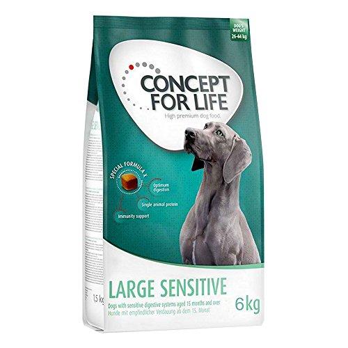 Concept for Life Trockenfutter für große Hunderassen mit empfindlichem Verdauungssystem, 6 kg