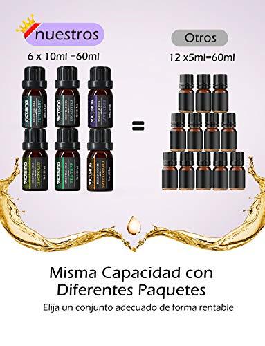 VicTsing Aceites Esenciales para Humidificador,100%...