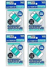 やのまん(Yanoman) カードプロテクター インナーガードJr. 4個セット (対応カードサイズ:59×86mm)