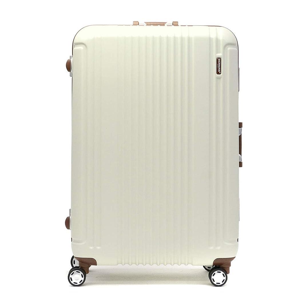 ミントマイル十代の若者たち[バーマス]BERMAS プレステージ2 PRESTIGE2 スーツケース 83L 60269 エクリュ/25