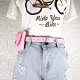 Girls'leather Waist Bag Fashion Mini Handy G��Rtel Taist Bag Kinder Vielseitig Pu Leather Mobile Phone Bag