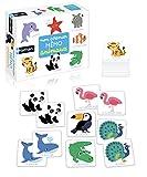 Nathan - Mon premier mémo animaux - Un jeu éducatif pour développer la mémoire des enfants à partir de 2 ans