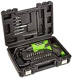 Kawasaki 603010121 - Avvitatore a batteria, Nero/Verde