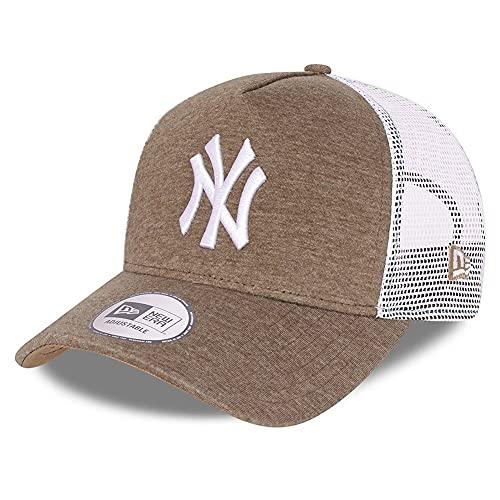 New Era - MLB New York Yankees Jersey Trucker Snapback Cap - Beige beige Talla única