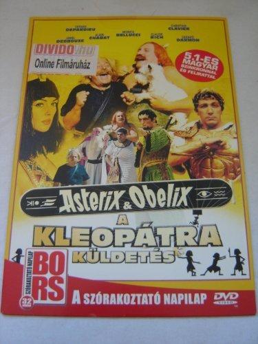 Asterix & Obelix Mission Cleopatra (DVD) in PAPER SLEEVE / Asterix ??s Obelix - A kleop??tra k??ldet??s (2002) Pap??rtokos / Au