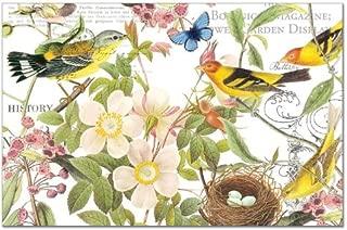 Counterart Paper Placemat, Botanical Birds, 24-Pack