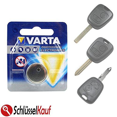 Autoschlüssel Batterie passend für Peugeot 107 206 207 307 Citroen C1 C2 C3 C4 NEU