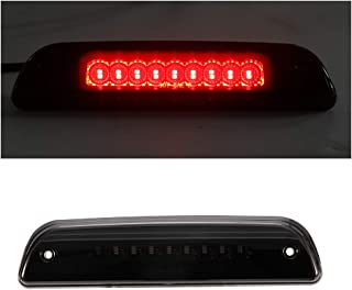 LED 3rd Brake lights High mounted Red Third Cargo Stop Lamps Tail Reverse light for 1995-2017 Toyota Tacoma,Smoked Lens