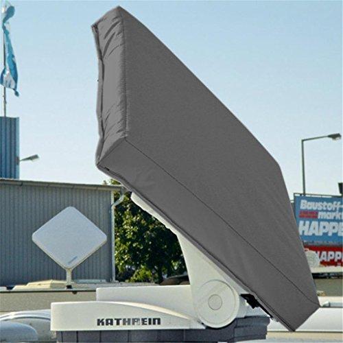Hagelschutzhaube für Kathrein Antenne BAS 60 / 65 / 66 - grau