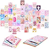 50 STÜCKE Comics Wandkunst Collage Kit, Anime