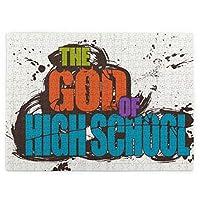 520 ピース 人気の新型the God Of High School ゴッドオブハイスクール (1) 木製ジグソーパズルパズルゲーインタラクティブゲ子供と大人のためのゲームー手作り人気の装飾品お誕生日プレゼントト