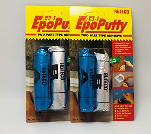 Alteco EPO Putty - Juego de 2 masas de reparación para amasar...