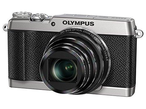 OLYMPUS コンパクトデジタルカメラ STYLUS SH-3 シルバー 光学式5軸手ぶれ補正 光学24倍&超解像48倍ズーム ...