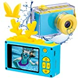 Kids Digital Cameras for Boys Girls HD 1080P Video Camera for Kids Children Selfie Camera Kids Toy Cameras Mini Child Camcorder for Age 6+ Boys/Girls Blue