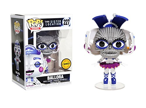 Five Nights at Freddy's Sister Location Ballora Pop! Vinyl Figure Chase Variant