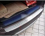 Liuyunding Coche Acero Inoxidable Trasero Paragolpes,para BMW X3 F25 2011 2012 2013/2014 2015 Trasero Trasero Automovil Protege ArañAzos Dispositivo Proteccion