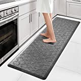 WiseLife Kitchen Mat Cushioned Anti Fatigue Floor Mat,17.3'x59', Thick Non Slip Waterproof Kitchen...