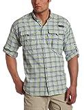 Columbia Camisa de manga larga Super Bahama para hombre (XL, nuclear, multi grande a cuadros)