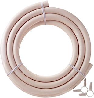 ダンロップ 都市ガス用新ガスソフトコード(内径9.5mm) ホースバンド付き 3m 3377 マルチ