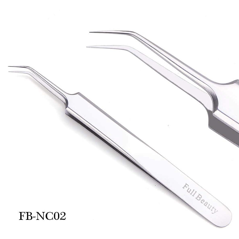 関連するダンプ流用する1ピーススライバーミラー眉毛ピンセット湾曲ストレートまつげエクステンションネイルニッパーにきびクリーニング化粧道具マニキュアSAFBNC01-04 FB-NC02
