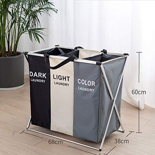 Jun La organización Cesta Plegable Cesta lavandería