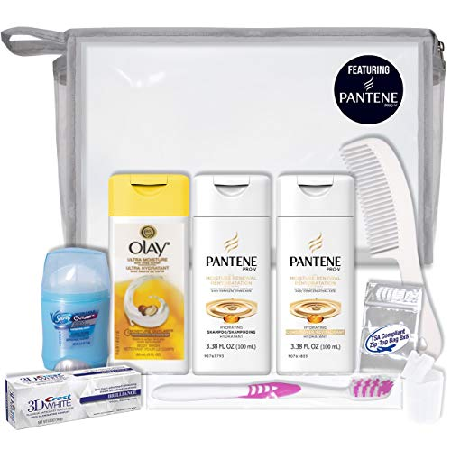 Convenience Kits International 10 PC Women's Deluxe Kit: Featuring, Pantene Hair and Olay Body Travel-Size Products (SPU7300AZ)