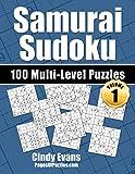 Samurai Sudoku Multi-Level Puzzles - Volume 1: 100 Samurai Sudoku Puzzles - 33 Easy, 34 Medium, and 33 Hard Puzzles - For the Samurai Sudoku Lover Who Likes A Choice